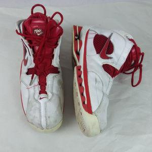 NIKE Shox Flight Red White Men's Shoes Size 11